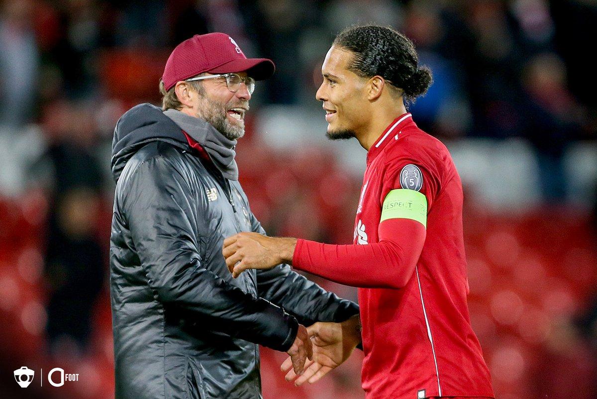 Virgil Van Dijk sur sa signature à Liverpool : « J'avais l'opportunité d'aller à Chelsea ou Manchester City. La chose la plus importante que vous regardez, c'est l'entraîneur qui est en poste, et Jürgen Klopp est la raison majeure pour laquelle j'ai choisi Liverpool. » (Mirror)