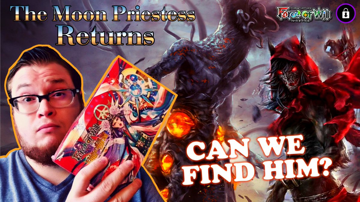 SEARCH FOR THE FIEND!  https://youtu.be/cE7WMkIodNA  FoW The Moon Priestess Returns Booster Cracking Sunday  #forceofwill #forceofwilltcg #forceofwillcommunity #fow #tcg #cthulhu #lovecraft #boosterpacks #boostercracking #sunday #mtg #unboxing  #boosterbox #anime #animegirlspic.twitter.com/DClxUhysqs