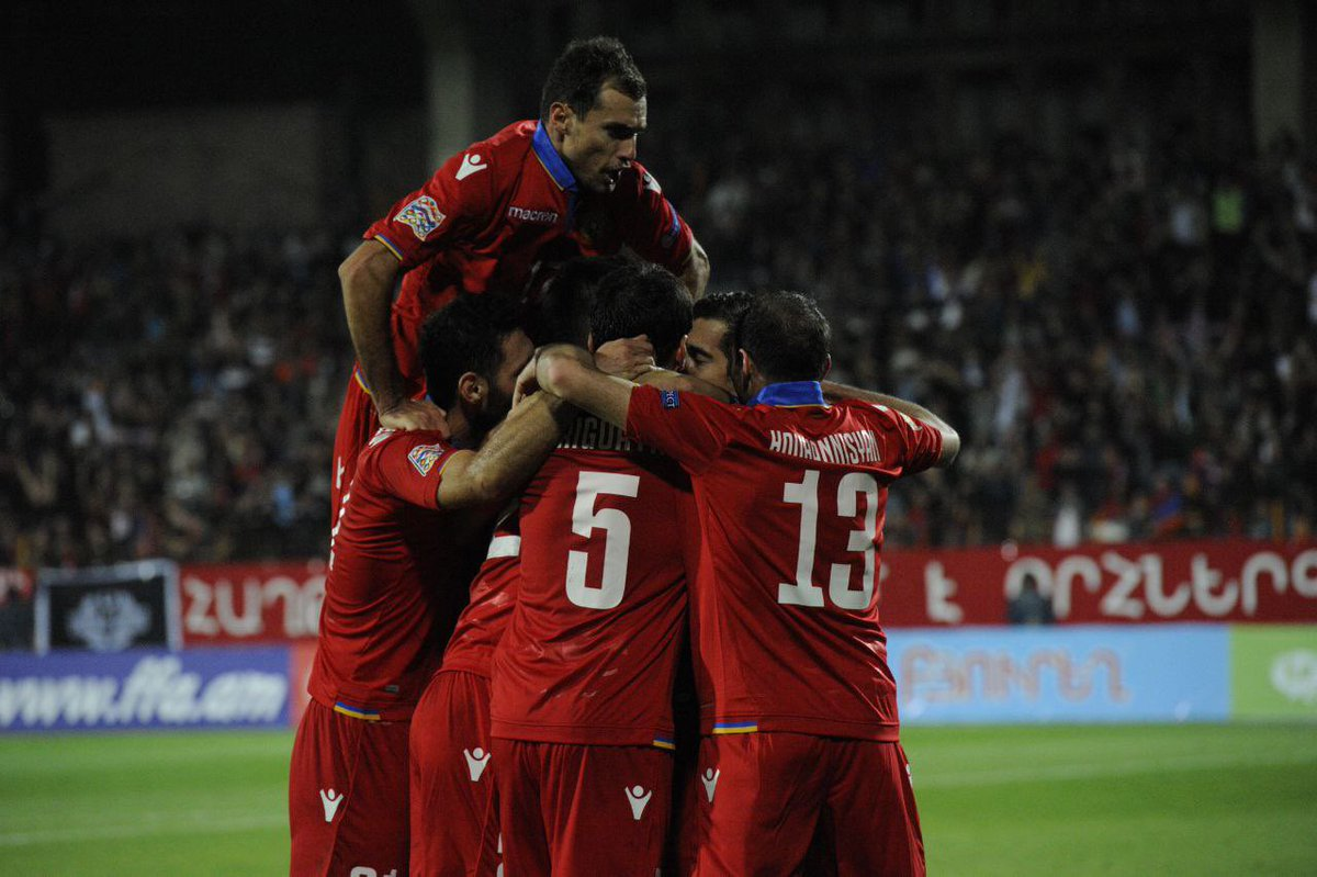 Arm🇦🇲 Football Alphabet:  N - North Macedonia 🇲🇰  North Macedonia will be our next opponent when we start our UEFA Nations League 2020/2021 campaign. The last time two teams met in Yerevan we crushed them 4:0 😎  #Armenia #Macedonia #NorthMacedonia #Nationsleague https://t.co/X7KOZiaZ3E