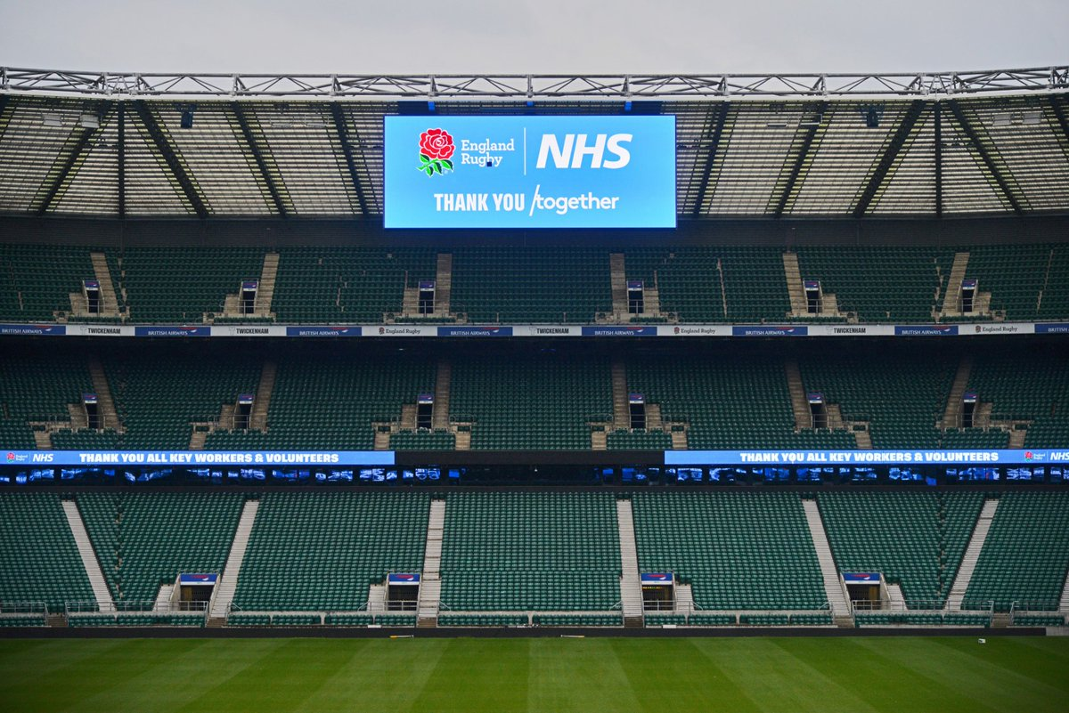 test Twitter Media - From all of us at England Rugby, thank you to the NHS for all the incredible work that you do 👏👏👏  #ThankYouTogether #NHSBirthday https://t.co/zPNnkuZke3