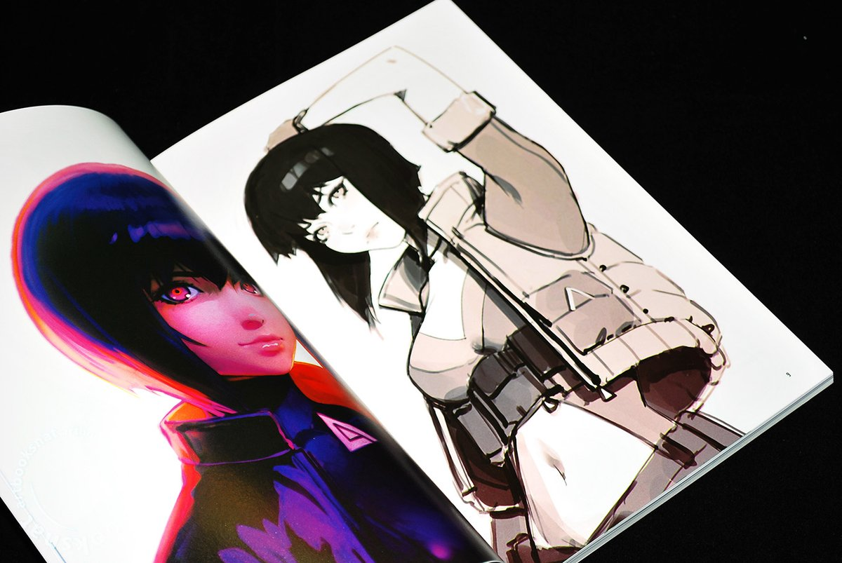 Nat On Twitter Ghost In The Shell Sac 2045 Official Visual Book Features Concept And Character Designs By Character Designer Ilya Kuvshinov Unlike Most Visual Books There Aren T Any Screenshots Just Gorgeous