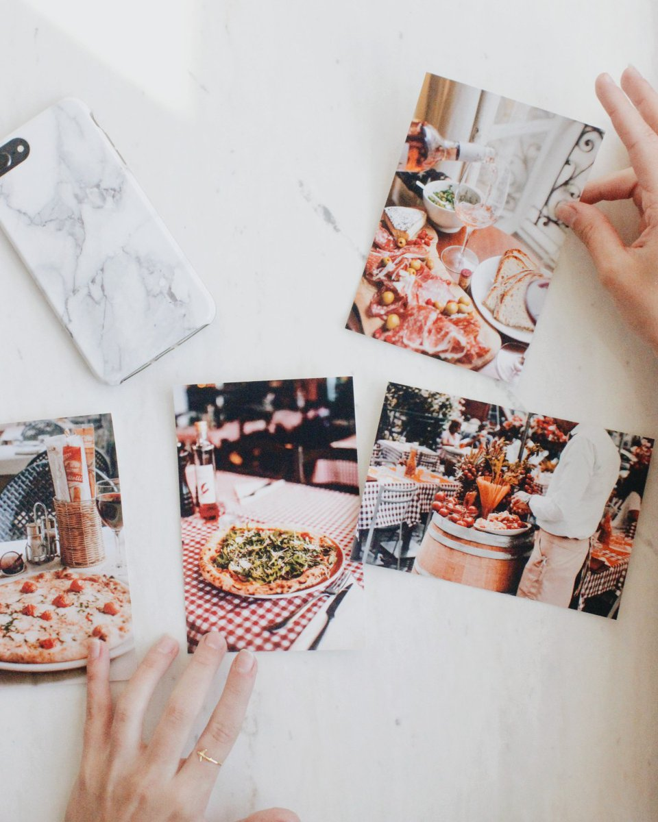 First, we eat. Then, we do everything else 🍕   Take your food photography off your phone #holdthemoment Here are a few tips to getting that perfect shot: -Use different foods 🍣 -Coordinate your kitchen colors -Choose complimenting prop colors  #phototips #foodphotography https://t.co/3uA0HFswQy