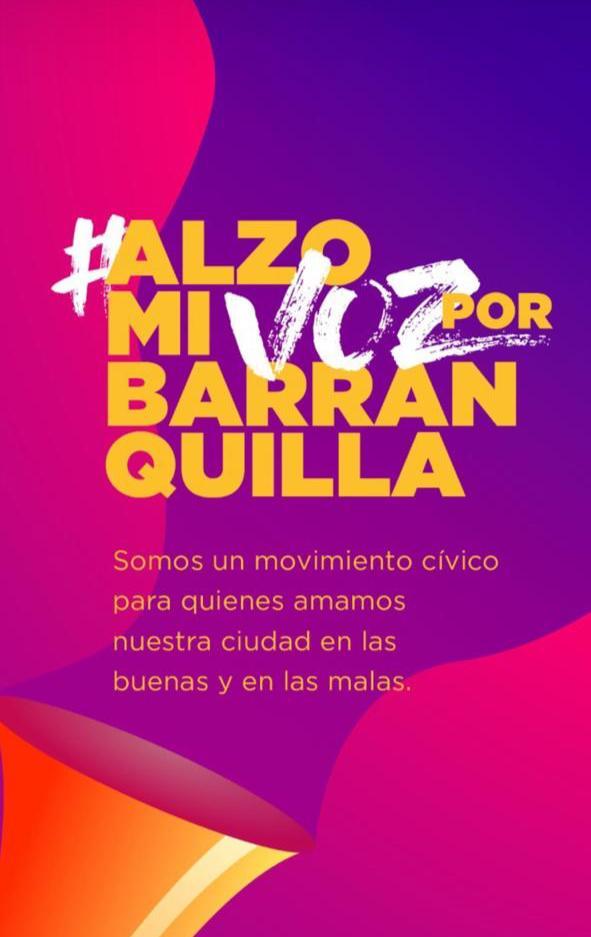 Hoy #AlzoMiVozPorBarranquilla, esa voz de la esperanza, para motivar a todos los colombianos a luchar juntos para mitigar los efectos de esta pandemia. #VamosColombia porque #DeEstaSalimosJuntos https://t.co/fvFKi83zDc