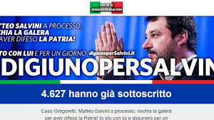 #digiunoperSalvini
