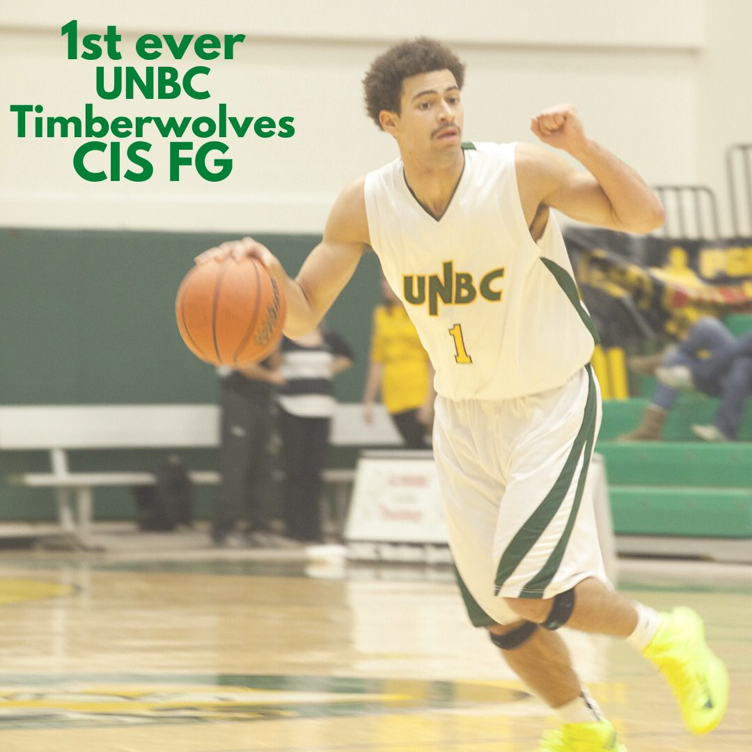 Trivia Answer: @sammyraph8 scored the first field goal for @UNBCATHLETICS with a jump shot at 7:44 against TRU Wolfpack.  #unbc #unbctimberwolves #unbcbasketball #princegeorge #canadawest #usports #gotwolvespic.twitter.com/0T4dVP8hYo