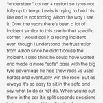 Chilled out Sunday in the sofa so here's my take on the @alex_albon vs @LewisHamilton incident after some analysing and thinking. Not a easy one, let me know what you think! #F1 #AustriaGP