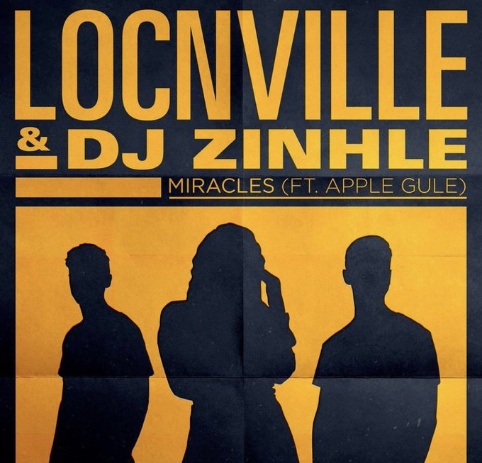 #JacaSATop20 @DJZinhle, @Locnville and @AppleGule's 'Miracles' moves up one spot to number 18! https://t.co/4edXNqis0h
