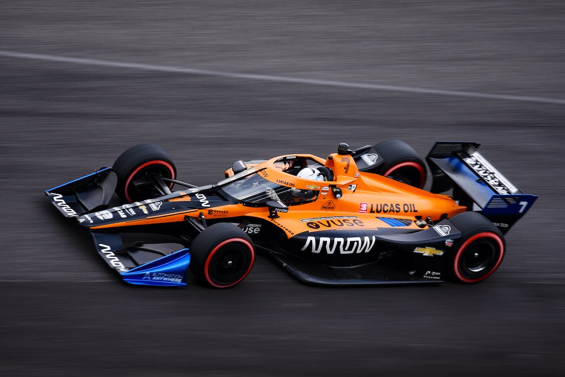 Had some time to reflect on yesterday's accident, I think there are more positives to take from the weekend as long as I learn from that and come back stronger. Proud of our team for their hard work. Looking forward to more opportunities in the coming weeks! @ArrowMcLarenSP