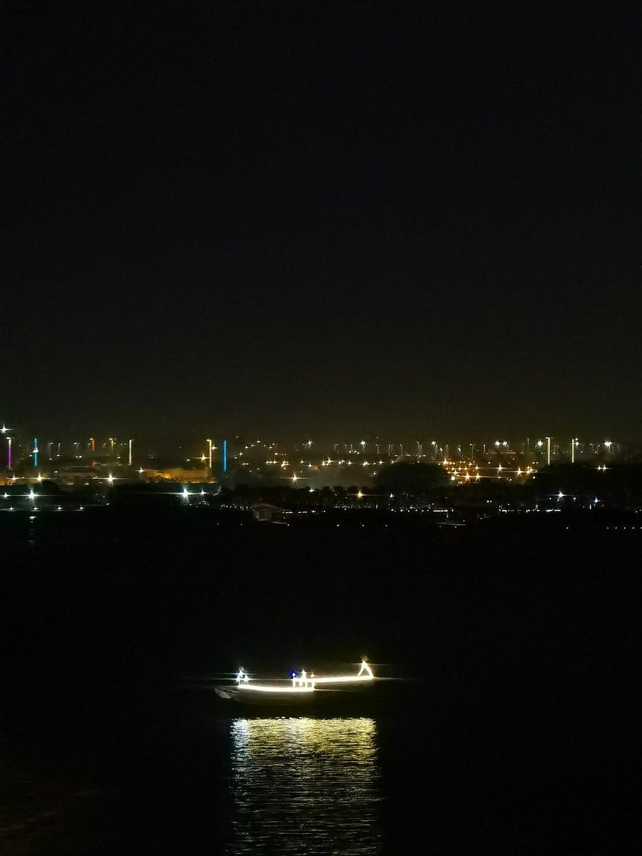 Night Boat #P40Proplus #HuaweiP40series @HuaweiMobile #nightphotography https://t.co/iYDJGRmVS8