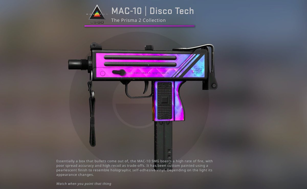🎁Mac-10 Disco Tech Field-Tested🎁  ✅like + retweet ✅tag 2 friends ✅sub to @XiSpencer : https://t.co/8nwfjEtQVc  Rolling in 48 hours ⏳ GL to everyone 🍀🍀 https://t.co/HI5Pulmjc9