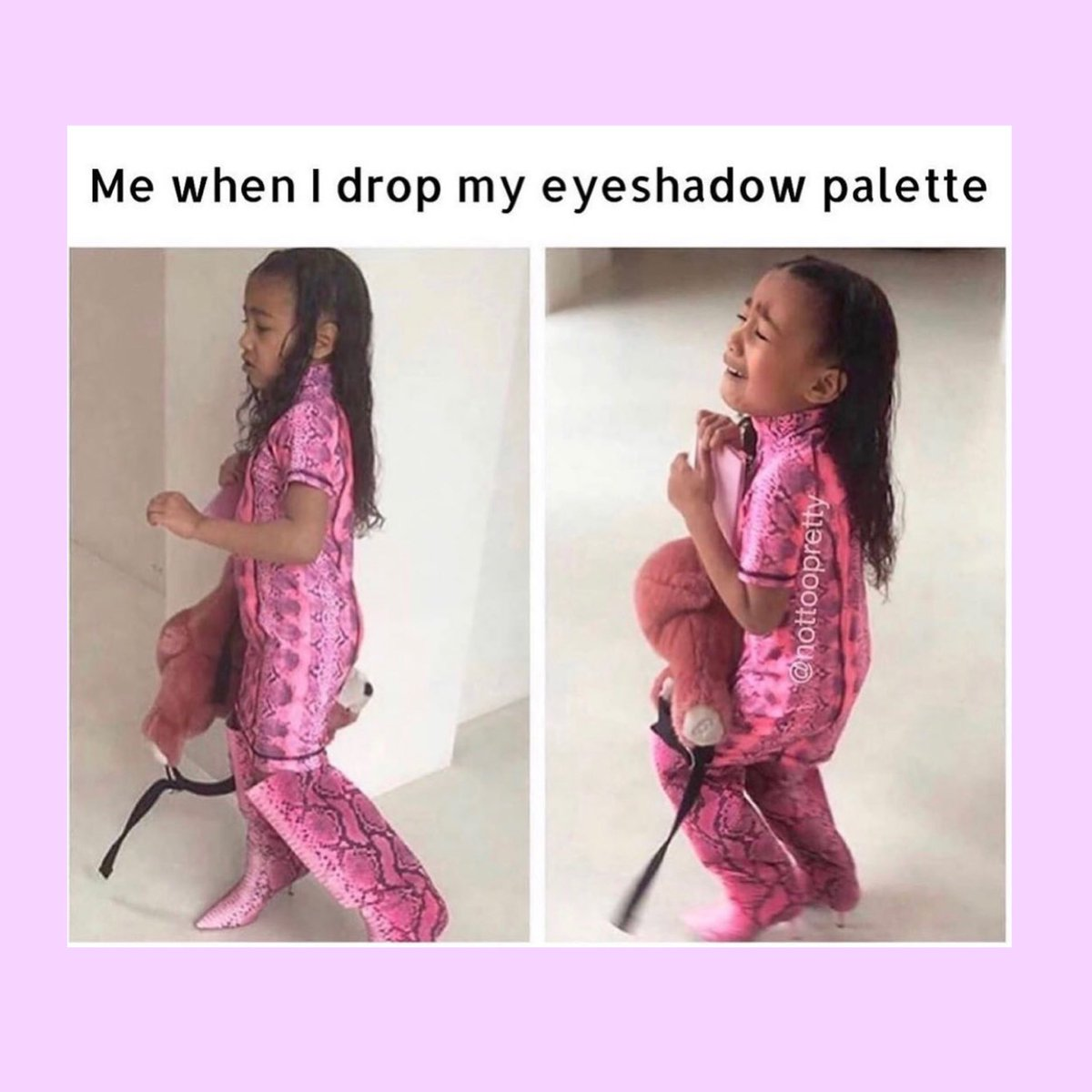It's a special Kind of Hurt....#makeupmemes #Kardashians #makeuppic.twitter.com/wF1oAGDrrq
