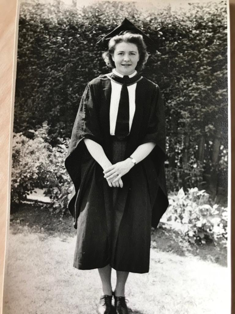 My mum who sadly passed away during lockdown was one of the 1st women to graduate as a doctor into the then new NHS. She worked with my Dad full time as GP's living & working in the community they served. I am so proud of them as I am of all NHS staff #NHS72 #NHSThankYou