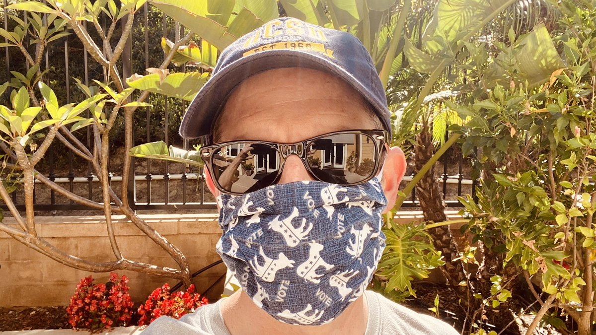 Enjoy your Sunday — another great day to wear a mask! #MaskUp https://t.co/A78aEFK5Kg