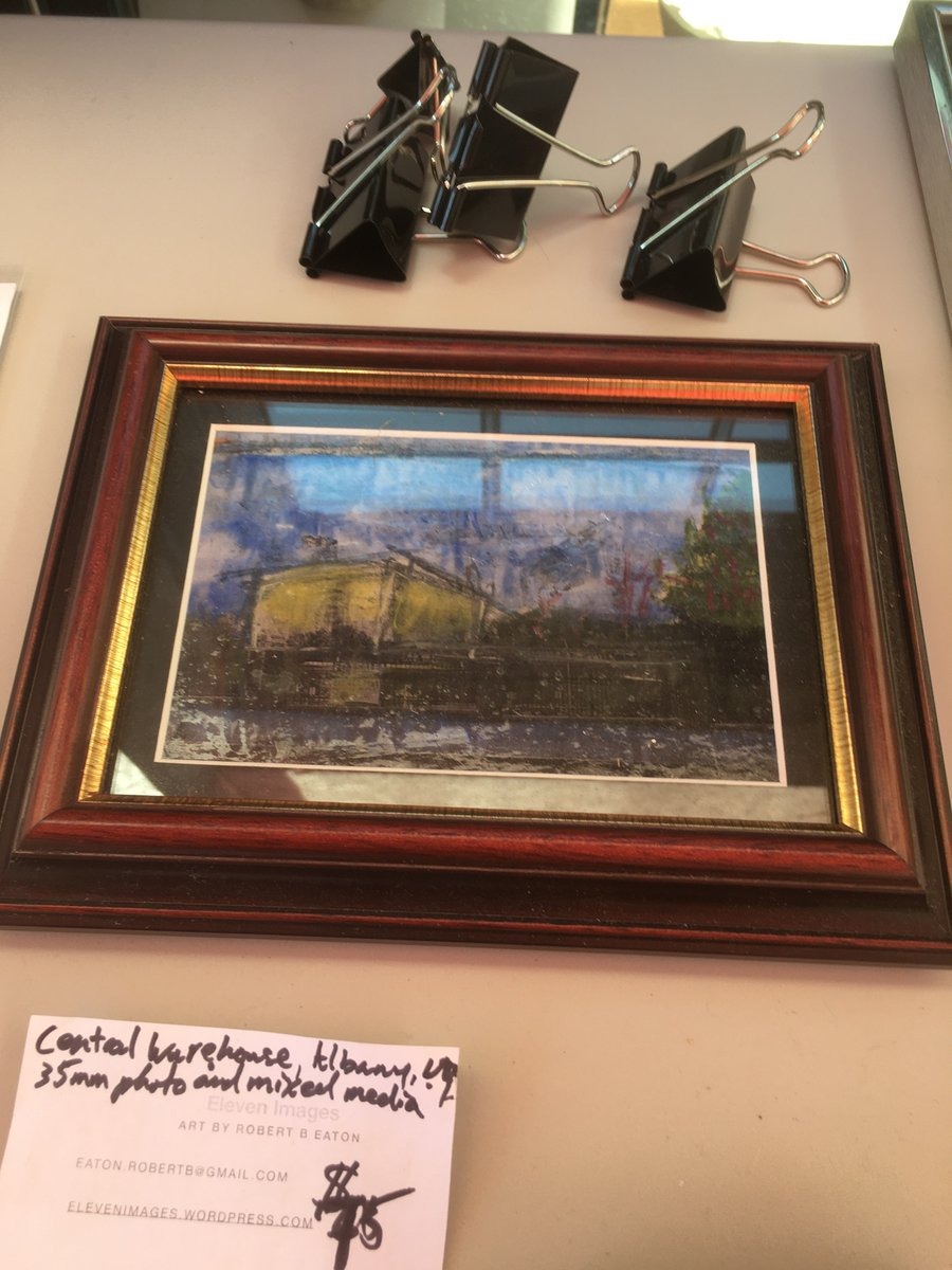Stuff I'm selling: Central Warehouse, Albany, NY. Photograph and mixed media. #AlbanyNY #elevenimages<br>http://pic.twitter.com/tPmYbV42a1