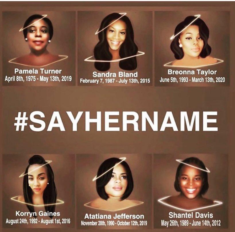 @RepWilson #LavenaJohnson #AtatianaJefferson #OluwatoyinSalau #SandraBland #PriscillaSlater #NakiaCrawford #PamelaTurner #ElijahMcClain #AhmaudArbery #GeorgeFloyd #DominqueFells #MauriceGordon #DavidMcAtee #AiyanaJones #BreonnaTaylor & COUNTLESS #BlackLives TAKEN https://t.co/5mnMsSHFB4