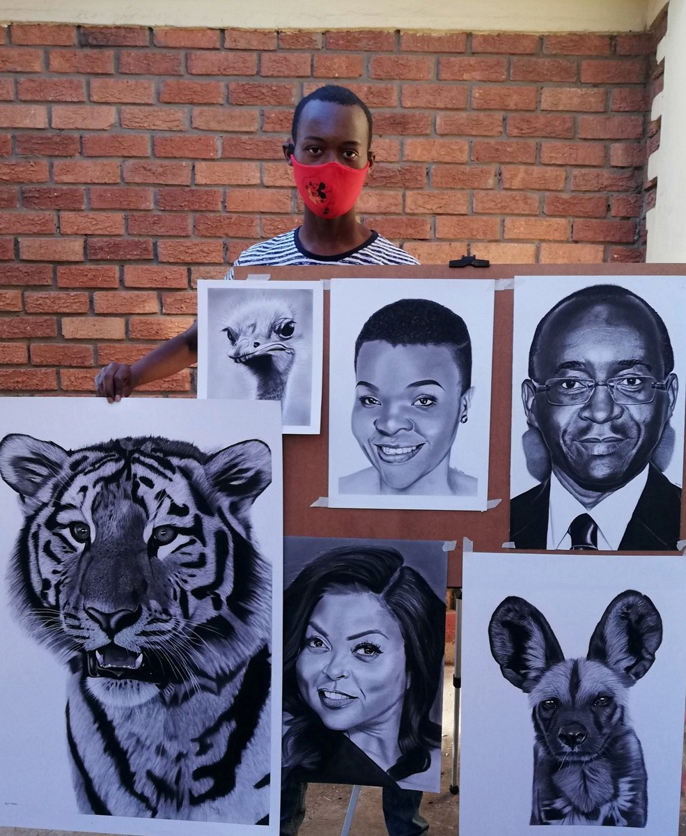 Hello twitter, my name is Dylan Mabika, l'm 18 years of age and proudly Zimbabwean 🇿🇼. I'm a self taught artist who got into the world of art is the year 2017 and below are some of my drawings.Would you please helpme with a Retweet, thank you!! #artwork #talent #Zimbabwe #retweet https://t.co/bZQRdF6HuT
