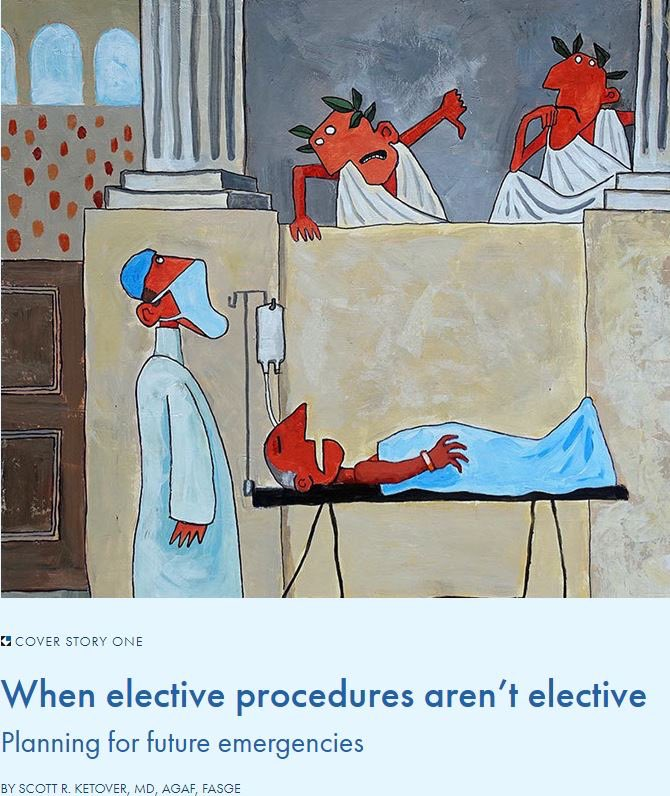 MNGI Digestive Healths President and CEO, Dr. Scott Ketover, recently contributed to Minnesota Physicians article titled, When Elective Procedures Arent Elective. mppub.com/mp-home-0620.h…