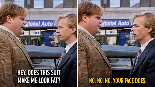 Dont overthink it. #TommyBoy is on now.