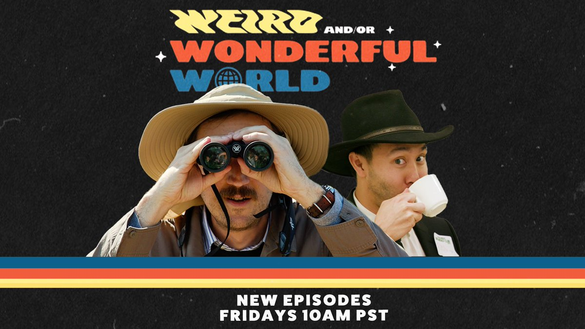 The boys are back! Season 2 of Weird And/Or Wonderful World, let's go 🙌🏻 https://t.co/mtlYjZqoVJ