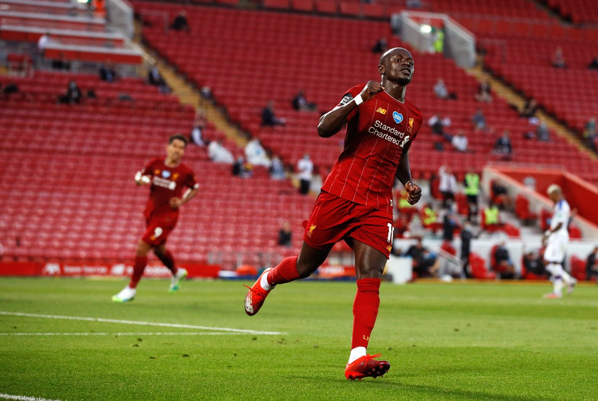 Sadio Mane has scored 20+ goals across all competitions in each of his last three seasons for Liverpool: 2017/18: 20 goals 2018/19: 26 goals 2019/20: 20 goals Liverpools Main Man.
