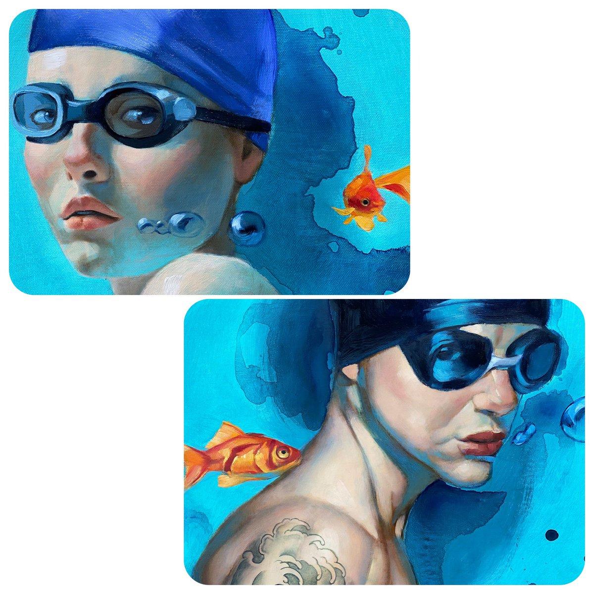Serie Nadadores  #nadadores #fernandovicente https://t.co/aWtsrM3DF9