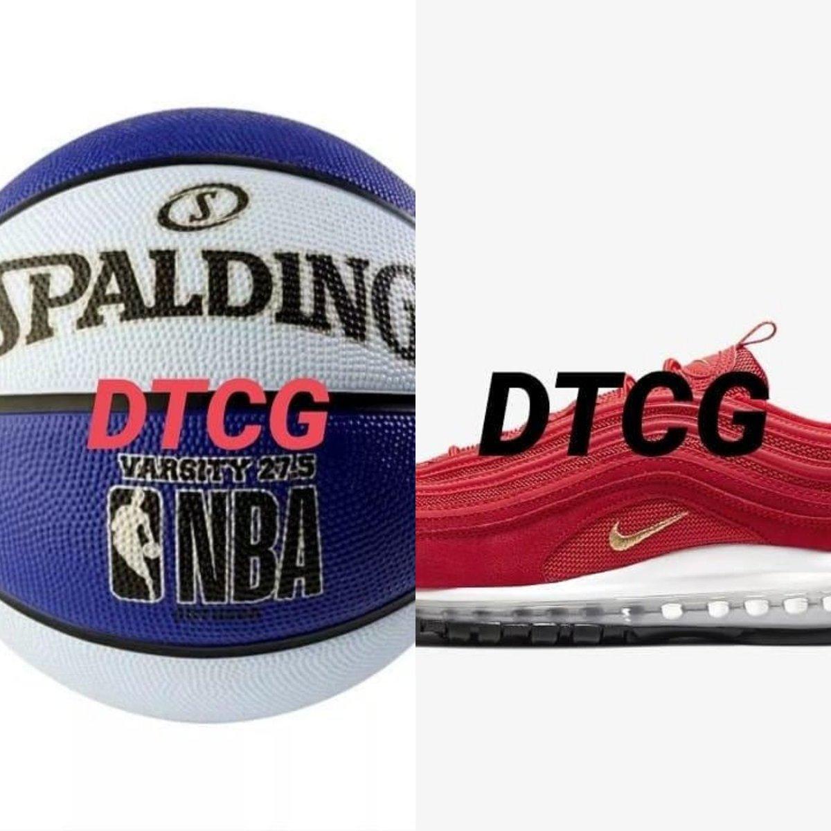 "Spalding 27.5"" Varsity Basketball - Blue/Light Blue ($9.99)  / Nike Air Max 97 Men's Shoe ($170.00)  <br>http://pic.twitter.com/ljcToe2S2g"