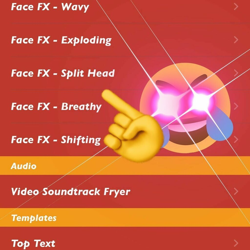 New! Freaky Face FX filters! Try them out! #memedeepfryer #deepfriedmemes #filters #faceeffects #facefx https://instagr.am/p/CCRHKPGH8vQ/pic.twitter.com/Gq2ox6apoM