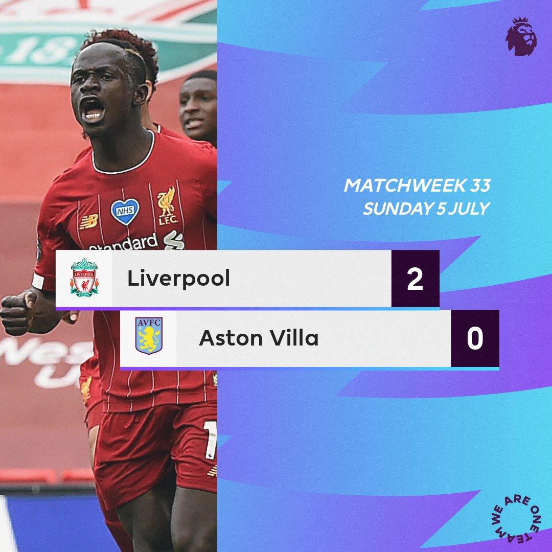 Liverpool-Aston Villa
