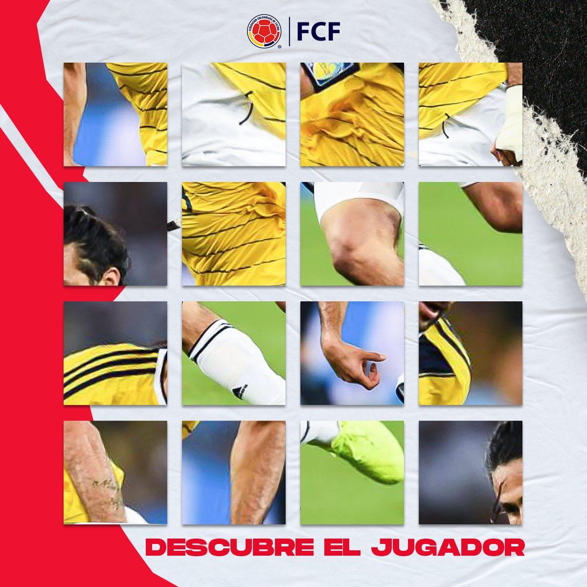 ⚠️ Solo para expertos⚠️  ¿Eres un fanático de la Selección Colombia 🇨🇴?  ¿Puedes adivinar quién es el jugador que aparece en esta imagen? 🤔  ¡Leemos tu respuesta! https://t.co/VyYt12fyjy