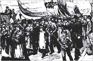 "On this day in #LaborHistory the year was 1888.  That was the day that the spark was lit that touched off what came to be known as the ""Match Girls Strike"" in East London.  More on the latest episode of @LaborHistoryin2:  https:// laborhistoryin2.podbean.com/e/july-5-the-m atch-girls-strike   …   #1u #UnionStrong #LaborRadioPod<br>http://pic.twitter.com/Ms7bfT2ALs"