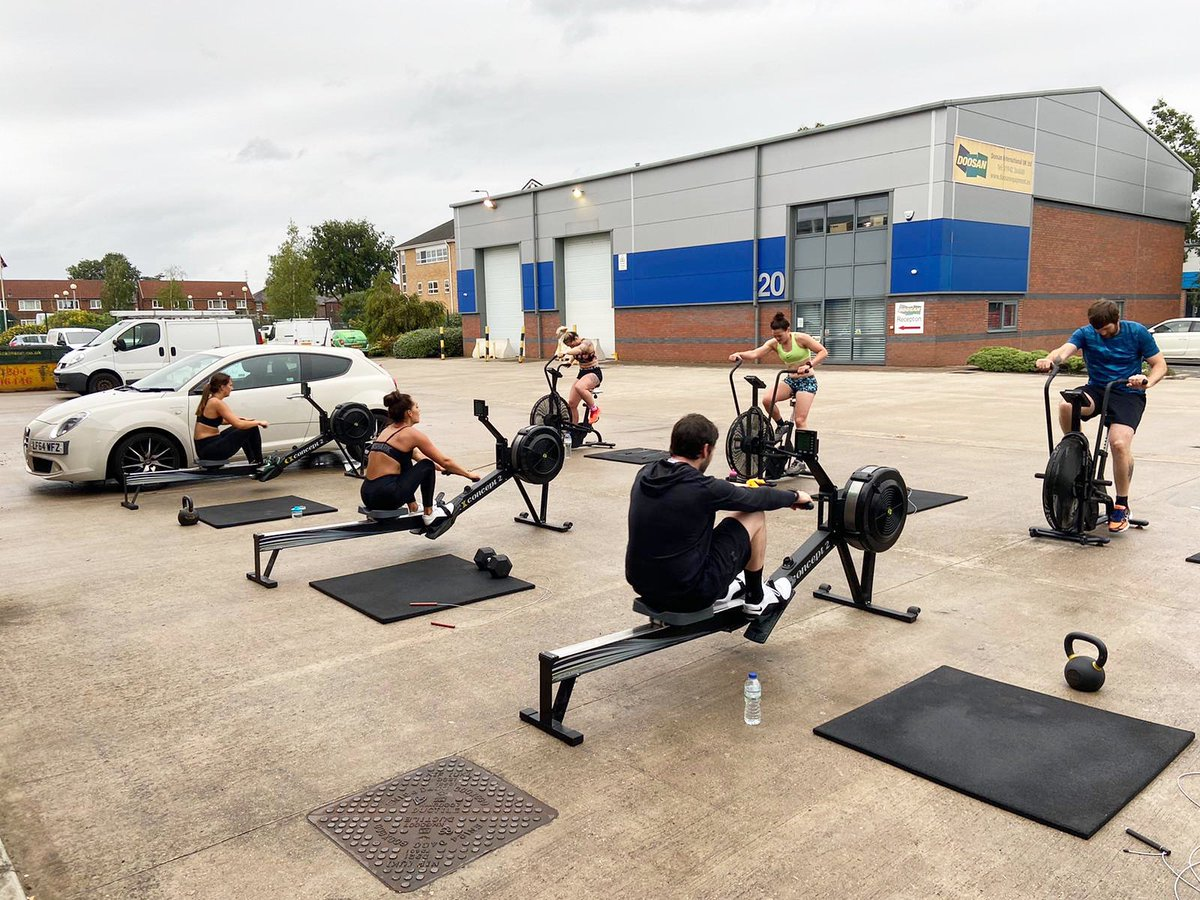 // Car park CrossFit by SLC   • We hope all of our members have had a great weekend! Ready to attack the week.. let's go • #slccpc #strongertogether #leigh #wigan #lowton #worsley #tyldesley #culcheth #astley #atherton #fitfamuk #instafitness #crossfitpic.twitter.com/YonmK6IqDG