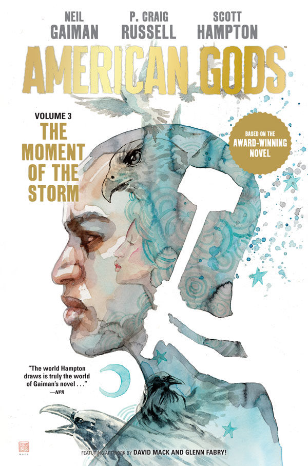 """American Gods now has not only another solid adaptation under its belt, but another solid first-encounter for newcomers. The Moment of the Storm concludes a spirited reinterpretation..."" @SpectrumCulture on Vol 3 of the comics adaptation of American Gods: https://t.co/PcJziJkXep https://t.co/MT7z15xpeW"