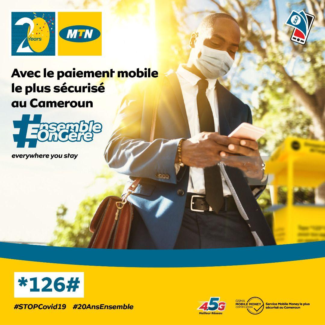 Y'ello! Sais-tu que MTN MoMo est le service de paiement Mobile le plus sécurisé au Cameroun ? C'est le tout premier service de paiement mobile certifié par l'organisme international GSM en zone CEMAC.  Tape *126# #FaisUnMoMo #MTNMoMo #EnsembleOnGere https://t.co/5q4I5C7bq7