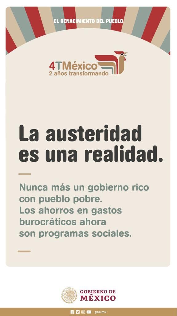 La inversión social del @GobiernoMX prioriza la atención de las personas que más lo necesitan. Los #ProgramasBienestar se guían por un principio esencial de la #CuartaTransformación: Por el bien de todas y todos los mexicanos, primero los pobres.
