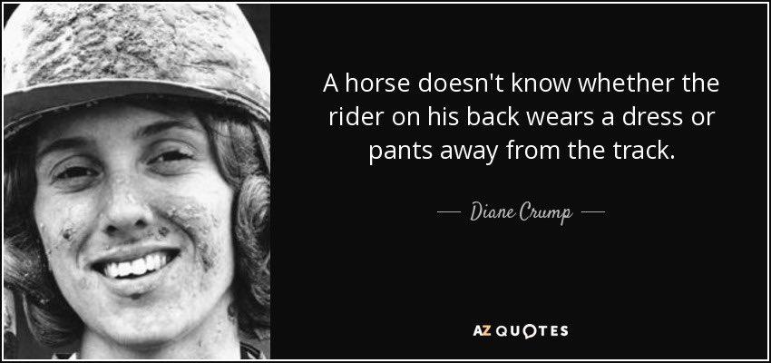 Quote of today #inclusion #gender #true #jockeys #horse #horses #horseracing #enjoy #enjoylife #enjoythelittlethings #enjoythemoment #enjoythejourney #besafe #women #men https://t.co/b5LxTa1ujI