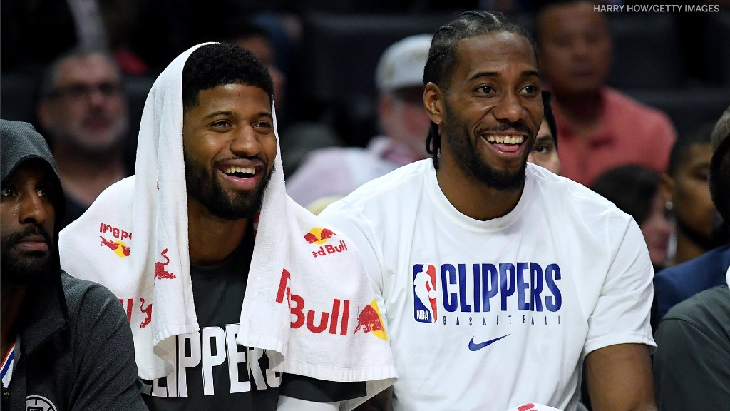 One year ago, the @LAClippers landed Kawhi AND Paul George!  Will they deliver a title? https://t.co/tTBVPWj5BA