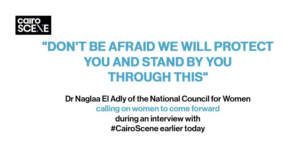 #CairoScene speaks with @ncwegypt on the services they provide, and the importance of coming forwards to bring justice to rapists - while also ensuring the protection and privacy of those who do speak out.  https://t.co/Z1YalTXI58 https://t.co/HUlBYVejf5
