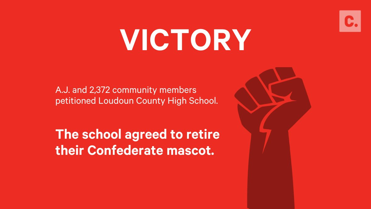 Pep rallies are going to look different at Loudoun County High School, thanks to A.J.'s petition: https://t.co/3wVPsCoCaH https://t.co/BAM0gCK4xO