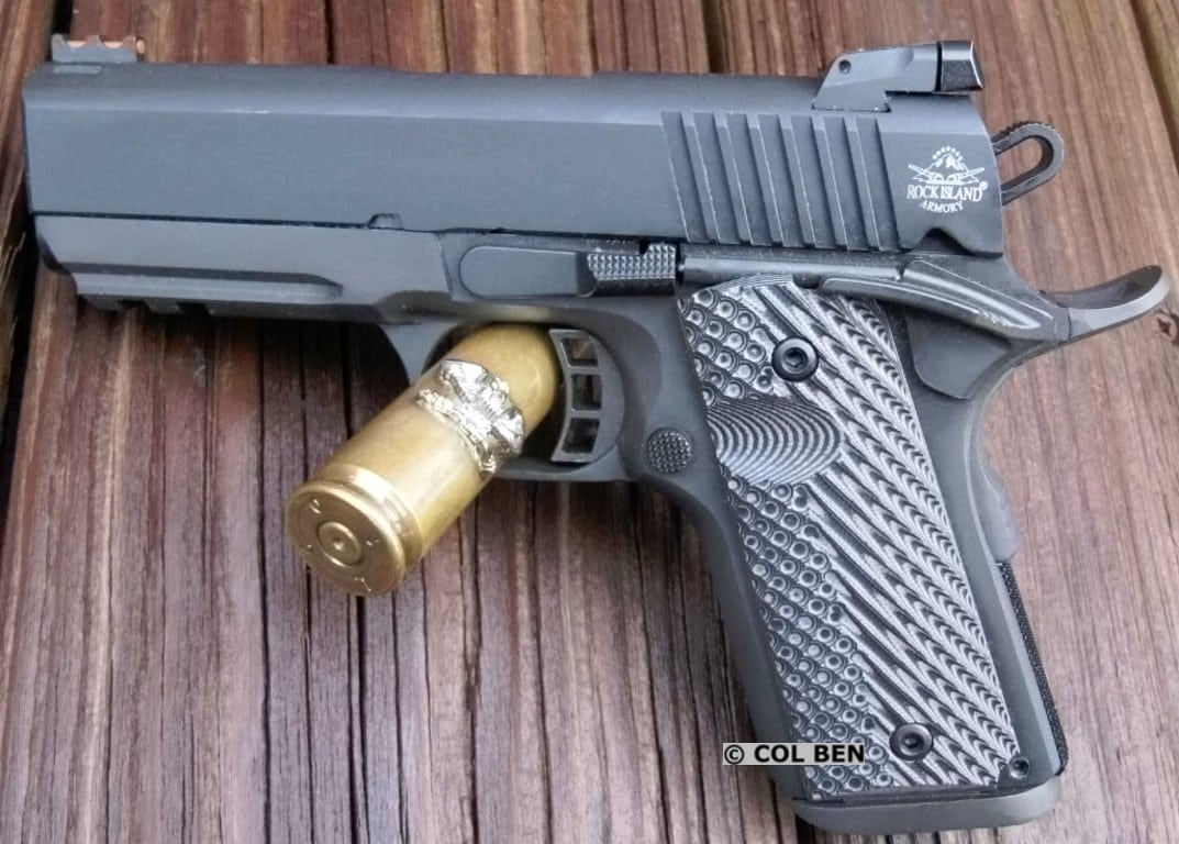 Come check out Col Ben's detailed review of the Rock Island Armory 1911 TAC Ultra CS 9mm  http://bit.ly/2KlbU6L  #firearms #guns #concealedcarry #ccw #alwayscarry #selfdefense #1911 @ArmscorRIApic.twitter.com/SXuYkgFtRT
