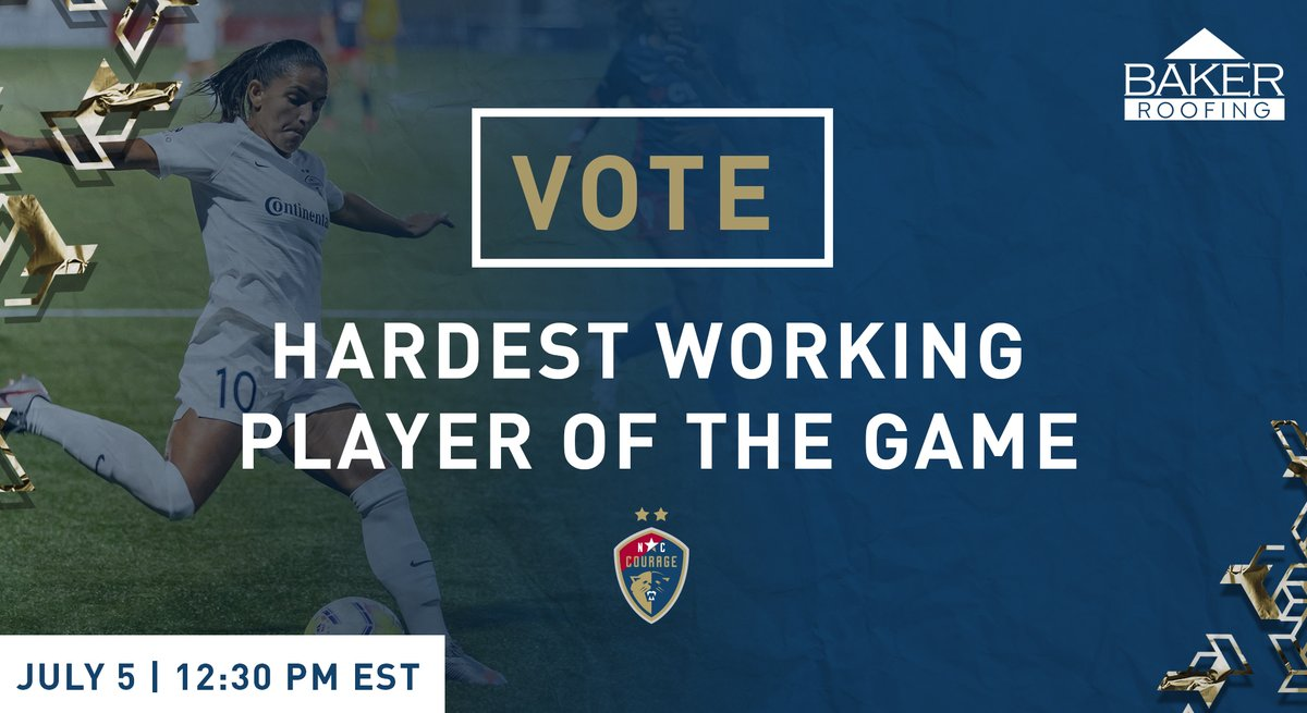 It's time to vote once again for the @BakerRoofing #AlwaysGoodWork Hardest Working Player of the Game.   Vote in the comments! https://t.co/zwc0mIqsyH