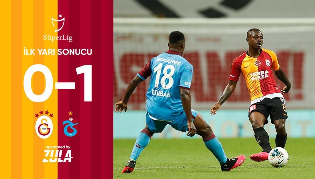 İlk yarı sonucu: Galatasaray 0 - 1 Trabzonspor #GSvTS https://t.co/Ut3cutSWGZ