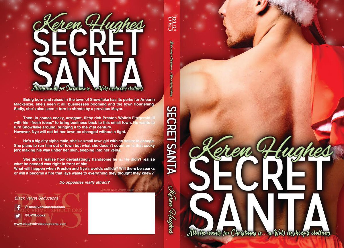 ★Secret Santa by Keren_Hughes★ ★All she wants for Christmas is...a Wolf in sheep's clothing. ★ -->Amazon UK (link: )  -->Amazon USA (link: )  This should be on your #Christmas #wishlist already!   too!