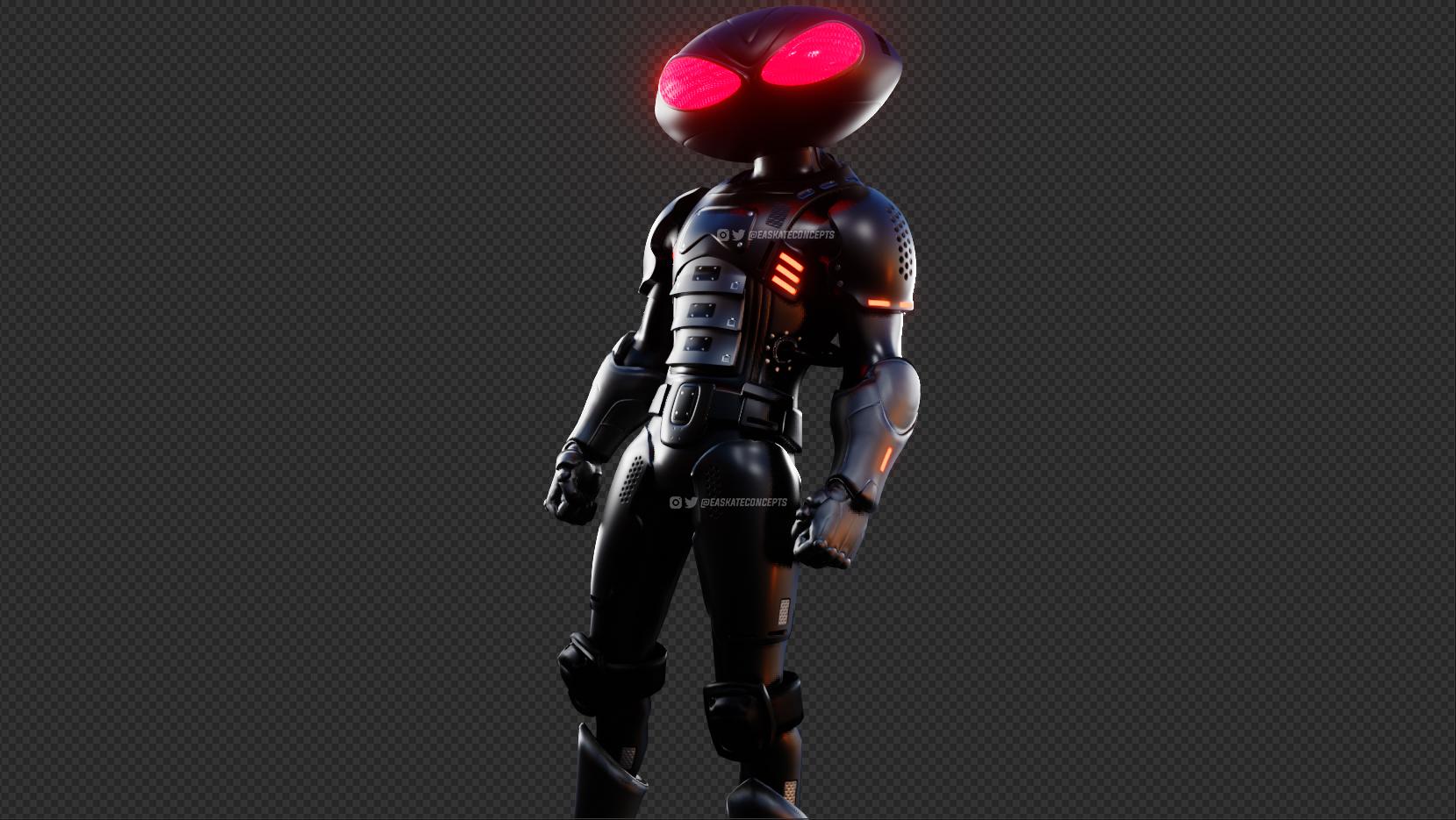 Fortnite Chapter 2 Season 3 leaked skin Black Manta
