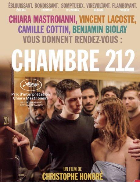 #Chambre212 une belle histoire avec un beau casting très inventif et bien ficelée. Notre avis (4,5/5🎥). En ce moment @myCANAL  @mementofilms #festivalDeCannes https://t.co/dFLRwngCw9