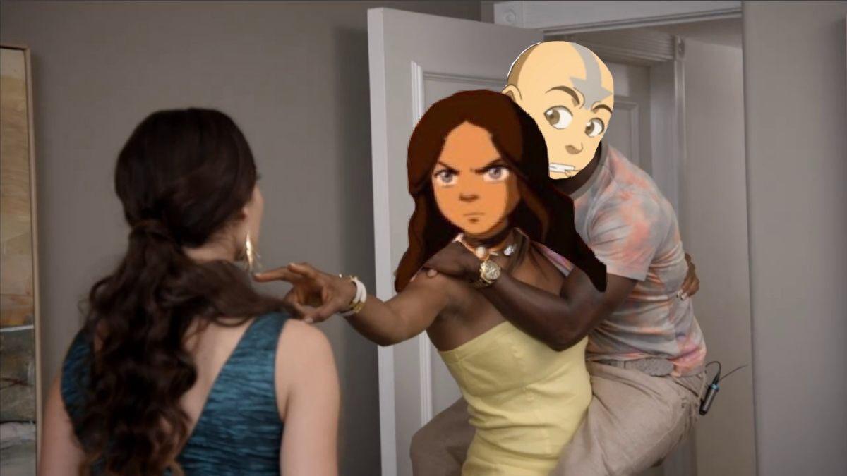 "Aang : ah man they messed up my order   Katara: what  Aang: it's fine katara   Katara: NO ITS NOT  ""HES THE AVATAR""<br>http://pic.twitter.com/Auflk32mco"