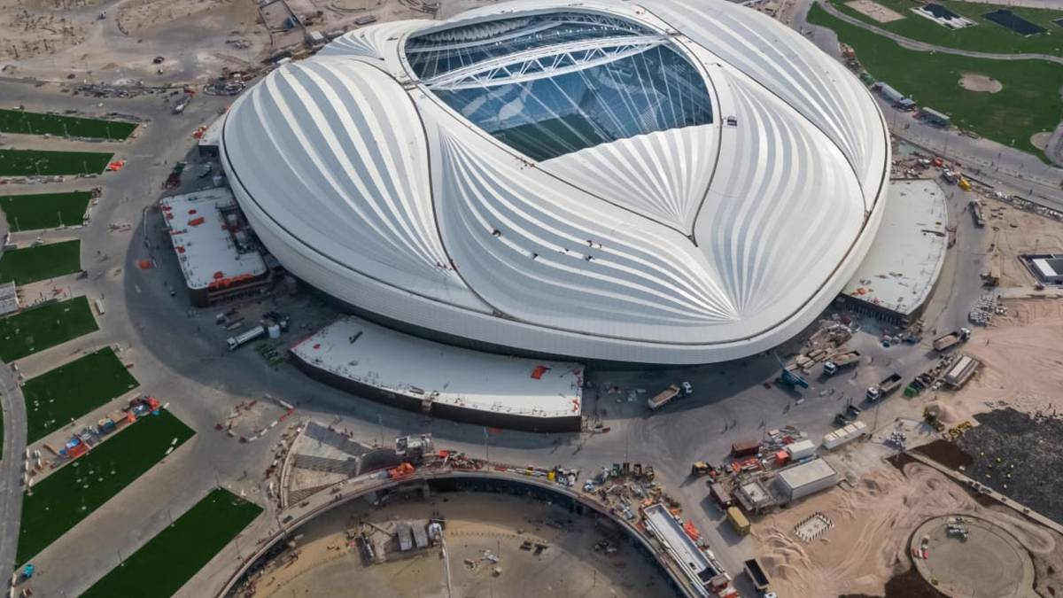 """Civil Engineering Discoveries on Twitter: """"Al Janoub Stadium, Qatar,  formerly known as Al Wakrah Stadium , is a football stadium in Al-Wakrah,  Qatar that was inaugurated on 16 May 2019. This is"""