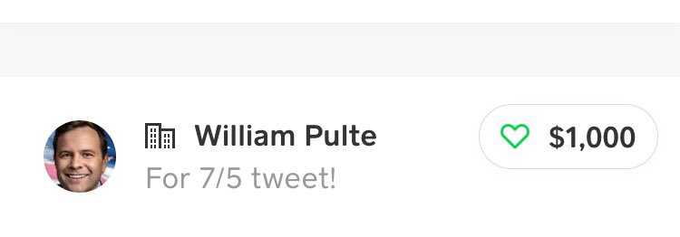 I just won $1000 from @pulte !!! Thank you so much!! This guy is legit!! I'm going to use this to pay off some of my debt, thank you!! https://t.co/xJQqgskbo2