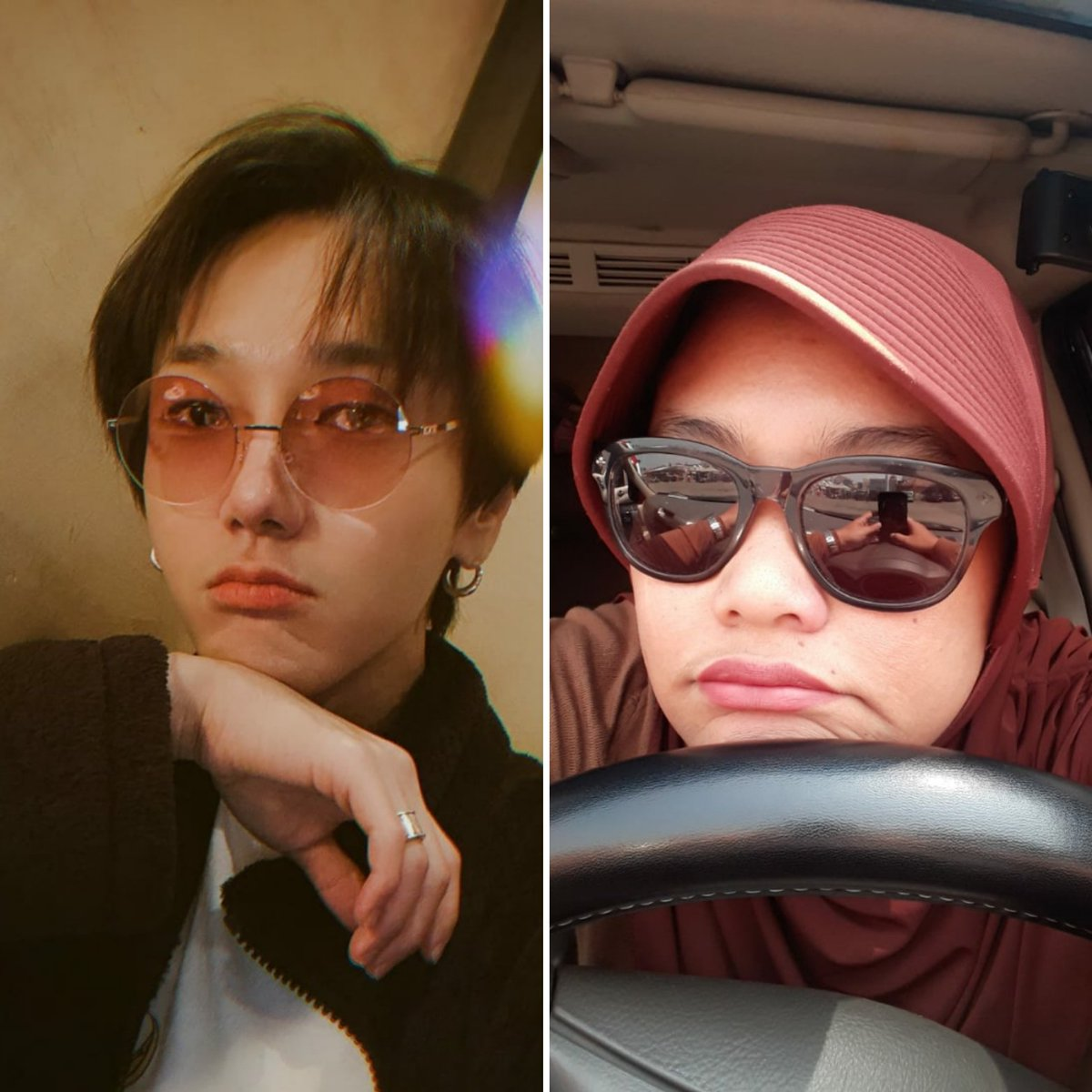 Ok, hes more cuter than me 😅 #elfselcaday #SuperJunior @SJofficial https://t.co/IC9ny08O9T