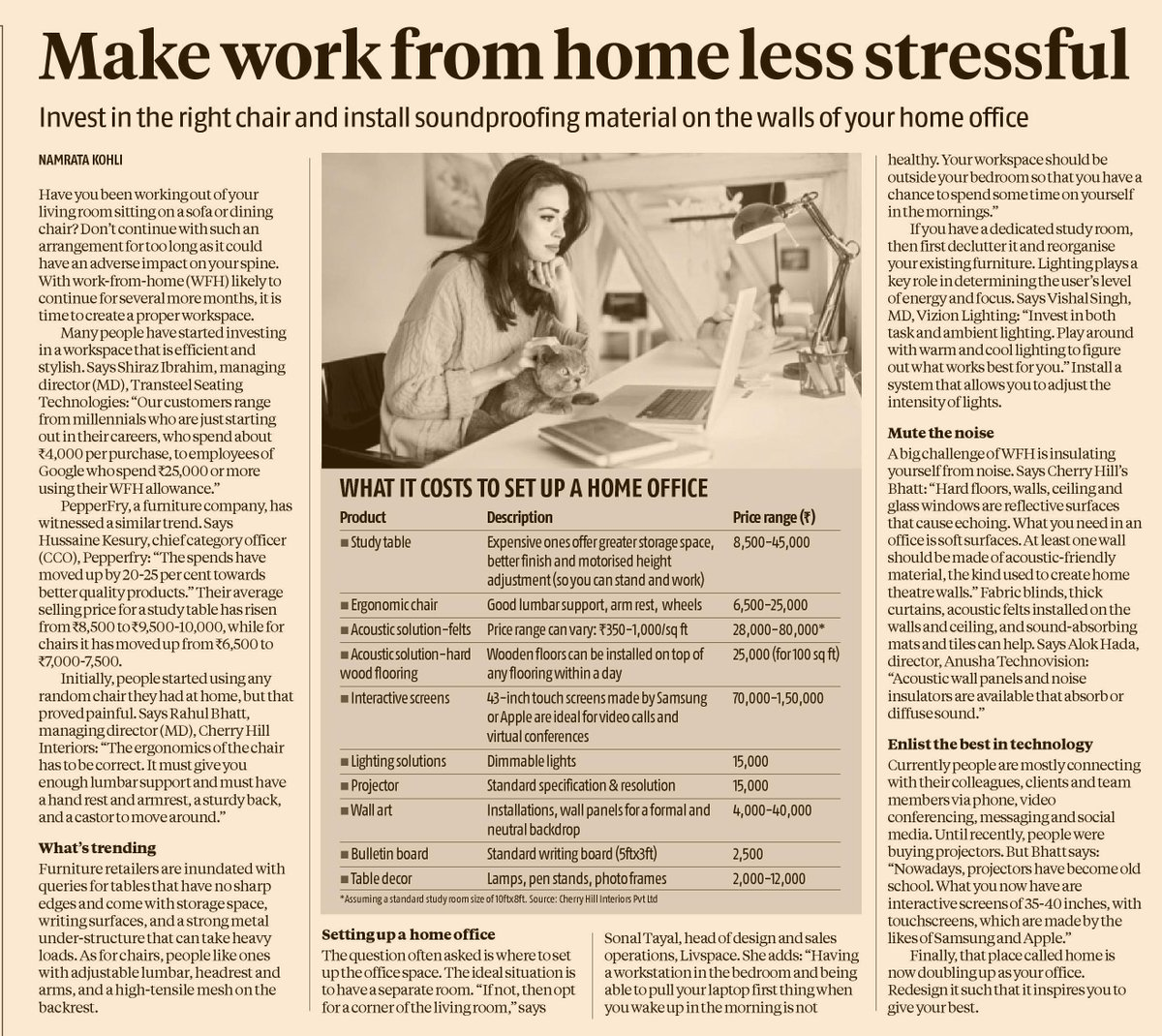 #BusinessStandard #workingfromhome #homeoffice #home  BS Personal Finance: Setting Up Your Home Office  https://t.co/Vllf75lXrw https://t.co/x8LprxN4hK