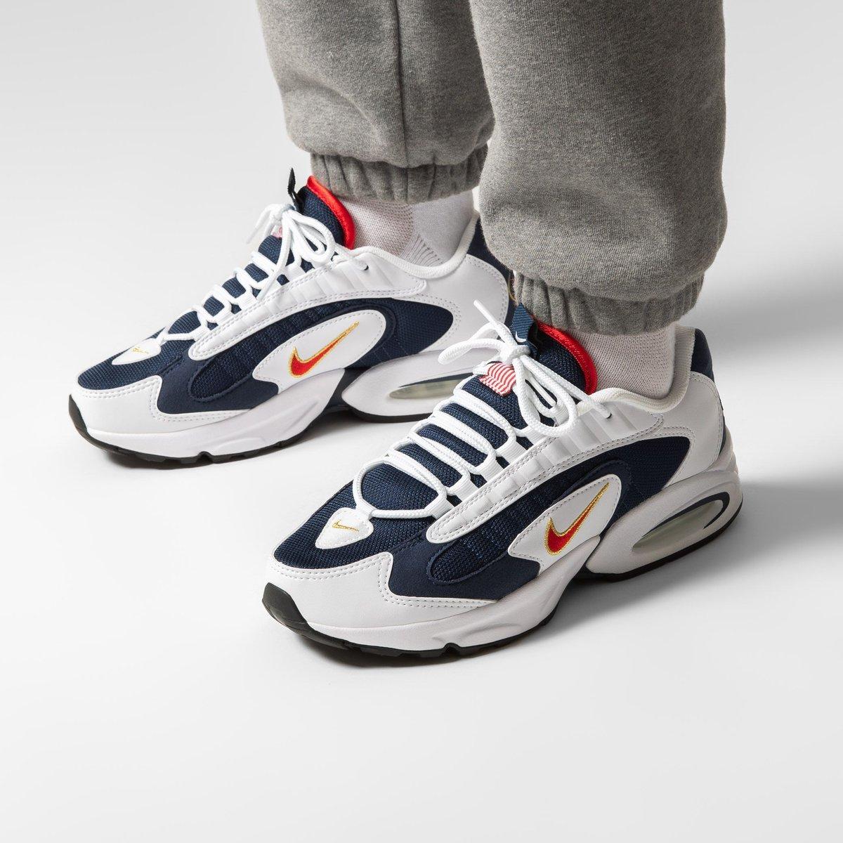 """NEW 🏅 Nike Air Max Triax 96 """"USA Olympics""""  Shop ➡︎ https://t.co/tENN2TiBAf  sizerun 🏃🏽 US 7 (40) - US 12 (46)  🔎 CT1763-400  #titoloSHOP #titolo #nike  #nikeairmaxtriax96  #usa  #olympic https://t.co/ov2naNmkDN"""